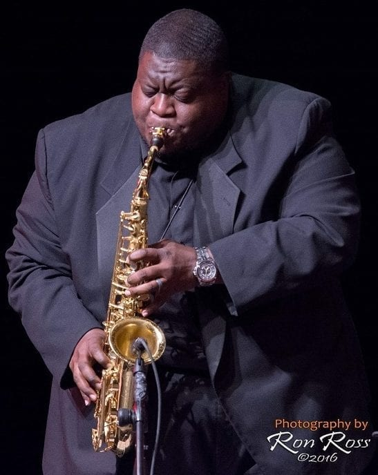 Image of Brian Miller Playing the Alto Saxophone