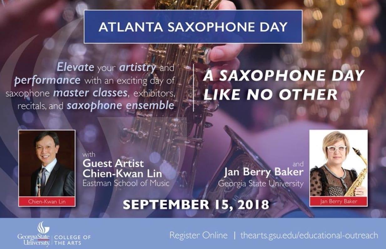 JodyJazz ATL Sax Day