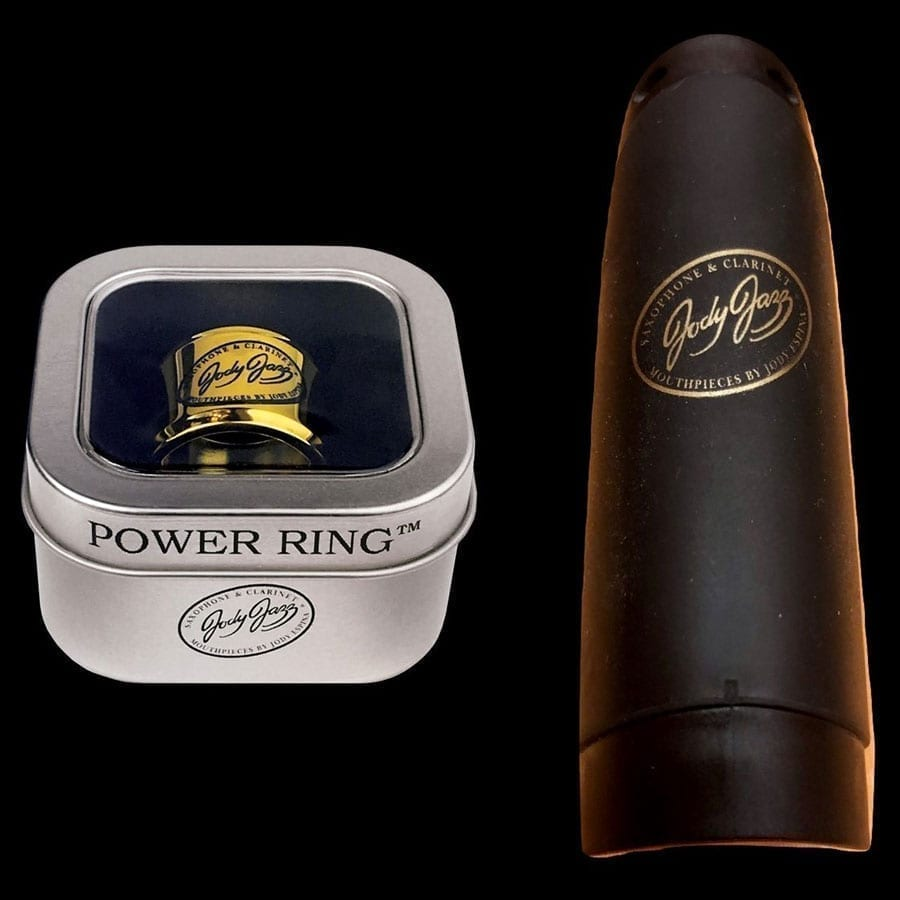 POWER RING®️ Ligature with Gold Cap